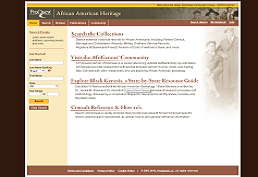 African American Heritage screen shot
