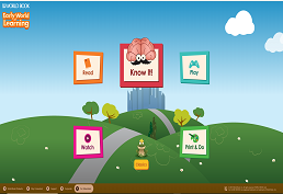Early world of learning database screen shot