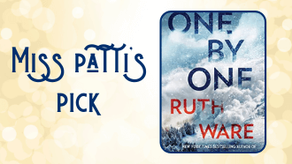 Miss Patti's pick One by One by Ruth Ware